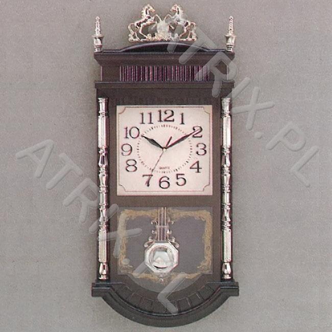Duży Zegar Z Muzyką I Wahadłem T608g
