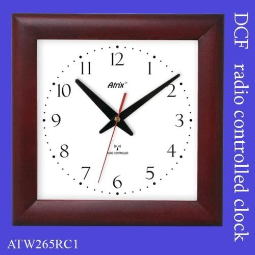 Zegar Drewniany Sterowany Radiowo 2